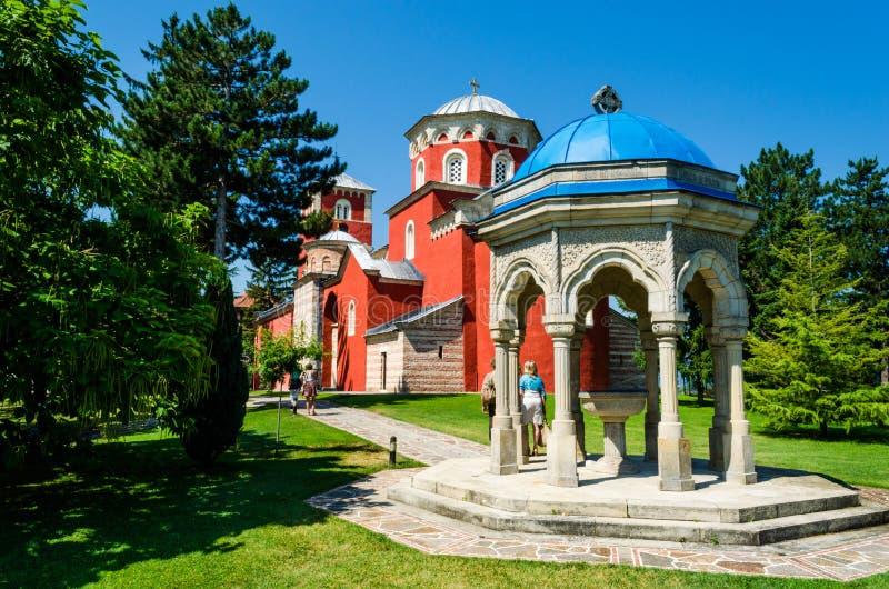 Monastère Zica images stock