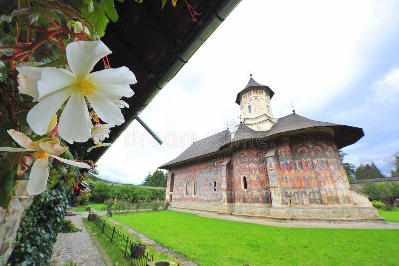 Monastères de la Moldavie : Moldovita photos stock