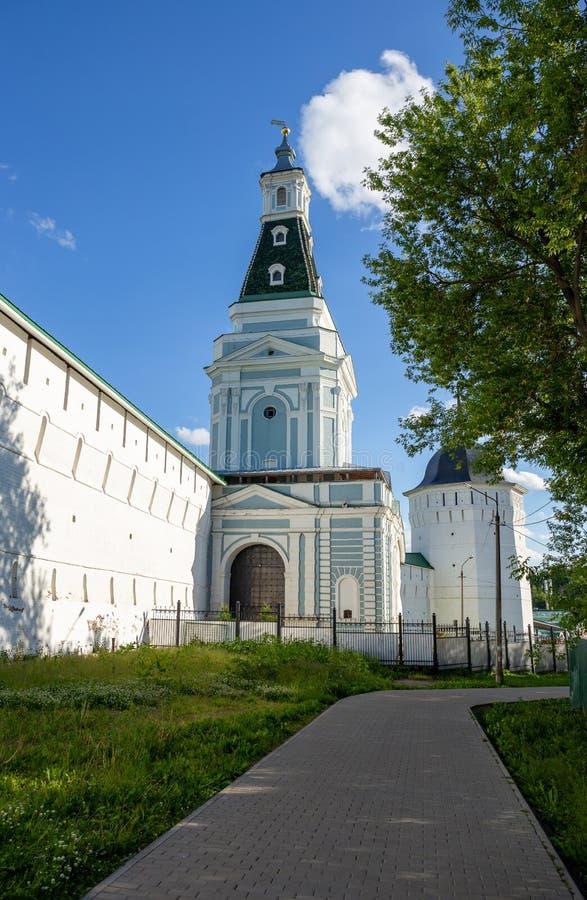 Monastério antigo no Sergiev Posad, Rússia imagens de stock