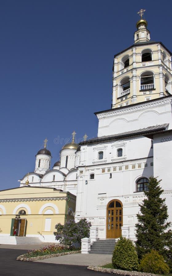 Monastério bonito em Rússia fotografia de stock royalty free