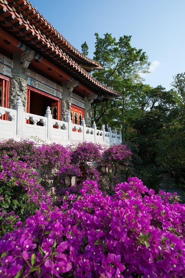 Monastério Buddhistic fotografia de stock royalty free