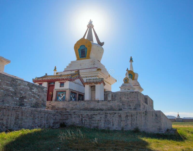 Monastério budista Erdene Zu foto de stock