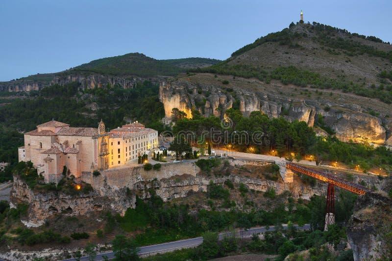 Monastério - Cuenca - Spain foto de stock