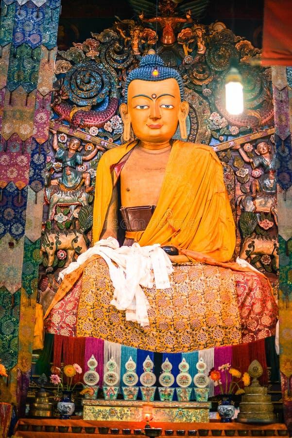 Monastério Darjeeling Ghum de Samten Choling foto de stock