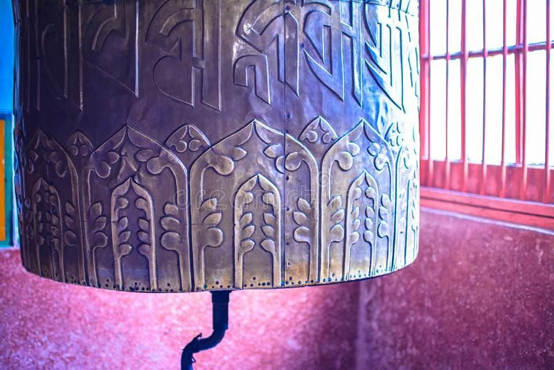 Monastério Darjeeling Ghum de Samten Choling foto de stock royalty free