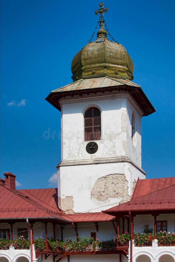 Monastério de Agapia imagem de stock royalty free