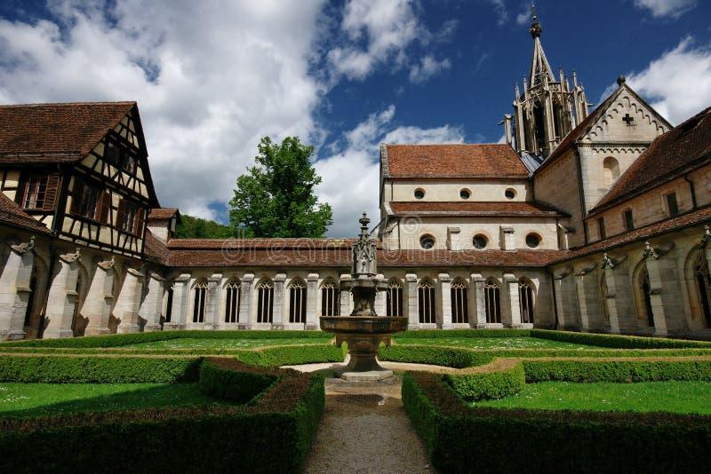 Monastério de Bebenhausen - Alemanha imagem de stock