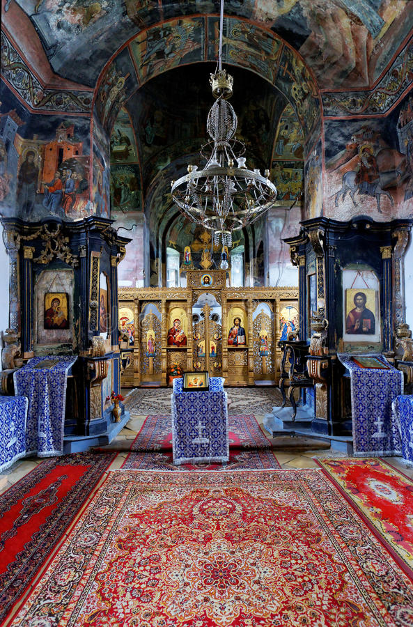Monastério de Bezdin imagens de stock