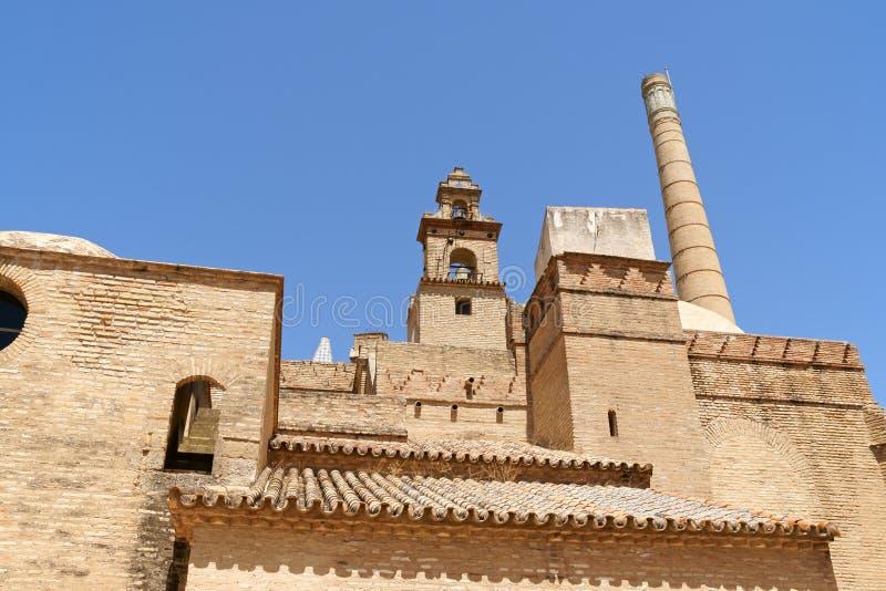 Monastério de Cartuja em Sevilha foto de stock royalty free