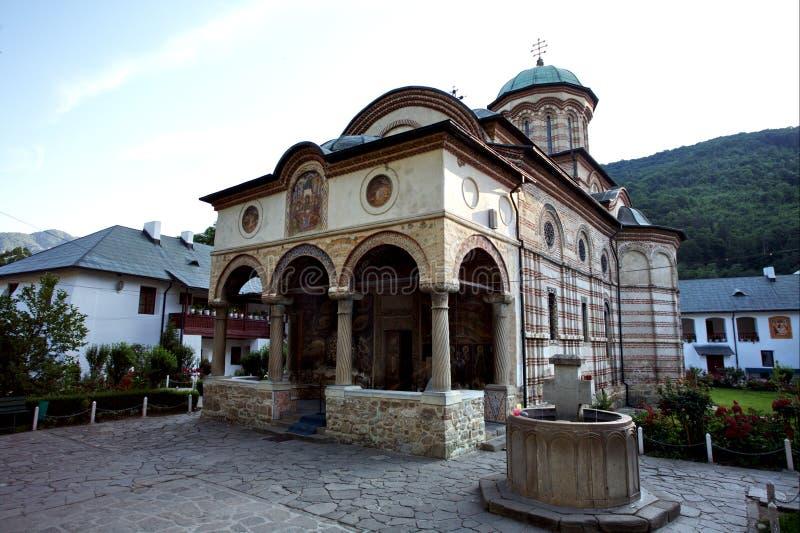 Monastério de Cozia fotografia de stock