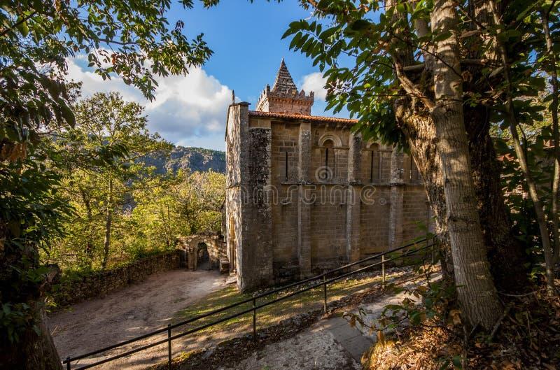 Monastério de Cristina santamente fotos de stock royalty free