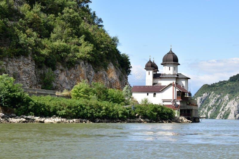 Monastério de Danúbio - monastério de Mraconia imagem de stock