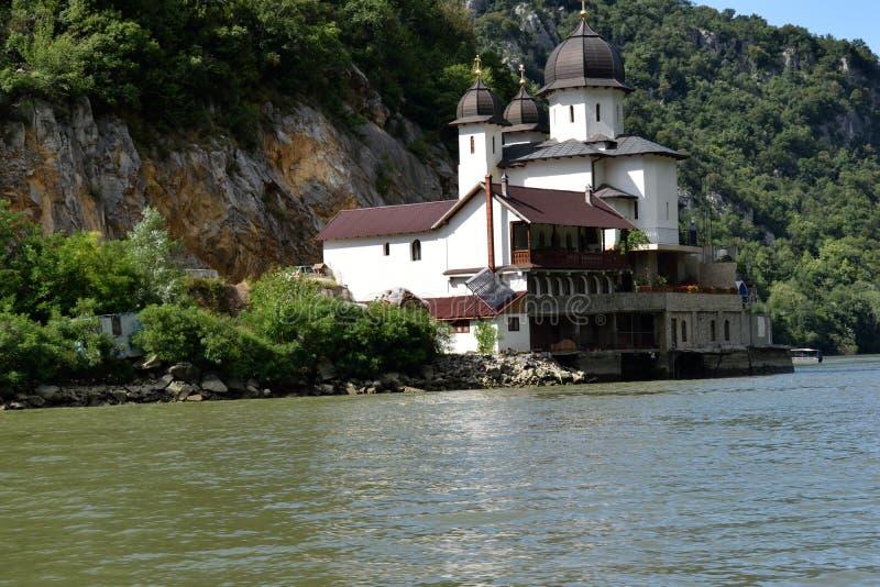 Monastério de Danúbio - monastério de Mraconia imagem de stock royalty free