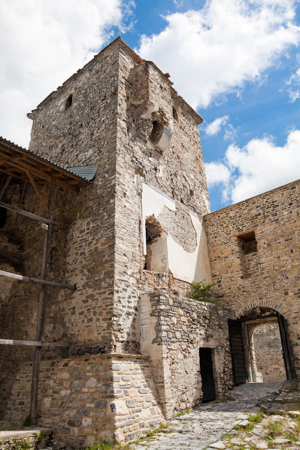 Monastério de Dionysios de Saint foto de stock royalty free