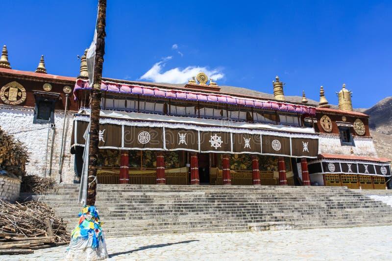 Monastério de Drepung foto de stock