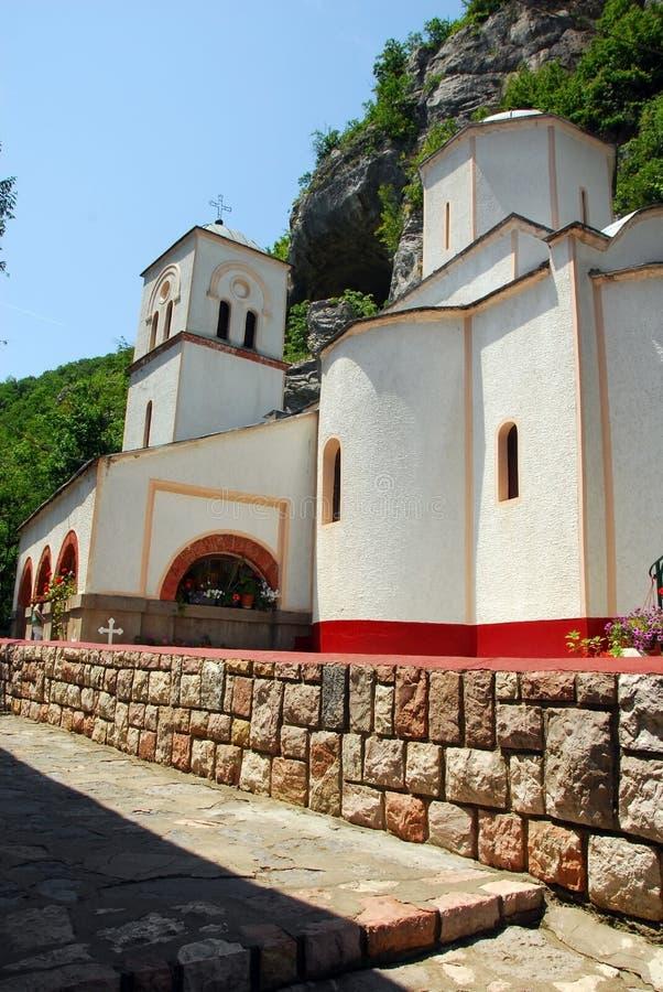 Monastério de Gornjak em Serbia imagem de stock royalty free