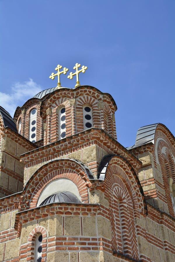Monastério de Gracanica imagens de stock royalty free