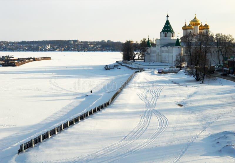 Monastério de Ipatiev fotografia de stock