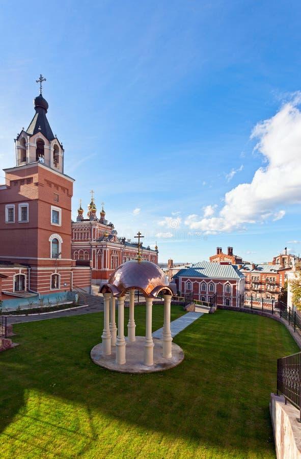 Monastério de Iversky no Samara foto de stock