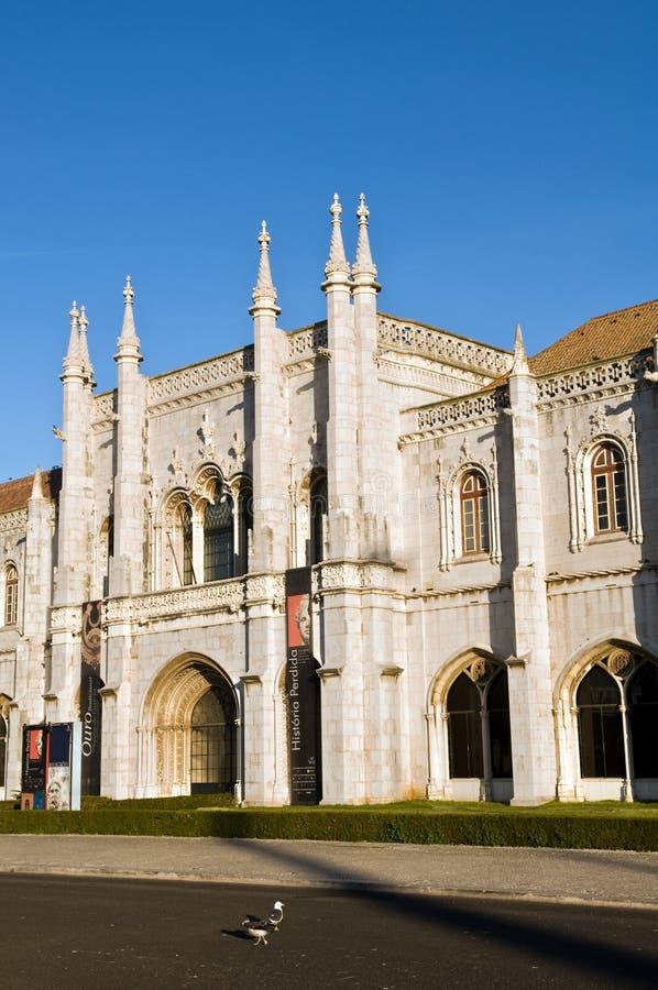 Monastério de Jeronimos fotos de stock royalty free