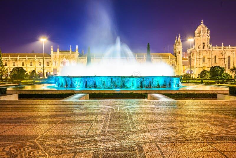 Monastério de Jeronimos de Belém, Lisboa fotos de stock royalty free