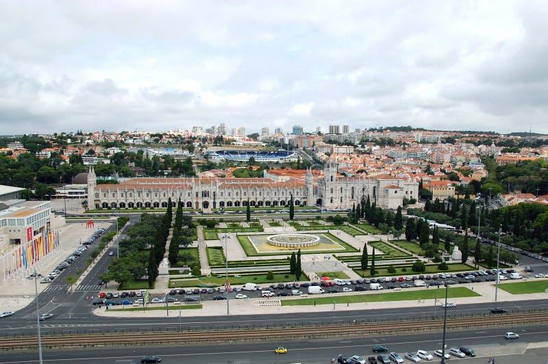 Monastério de Jeronimos em Lisboa imagens de stock royalty free