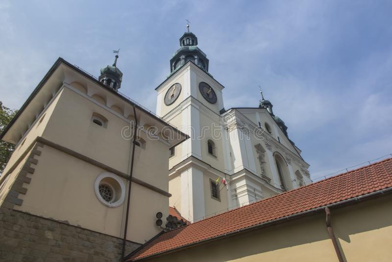 Monastério de Kalwaria Zebrzydowska, e o herita do mundo do UNESCO imagens de stock royalty free