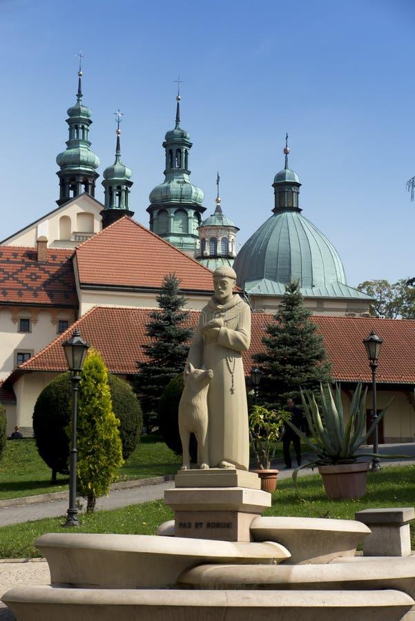 Monastério de Kalwaria Zebrzydowska, e o heritag do mundo do UNESCO fotos de stock