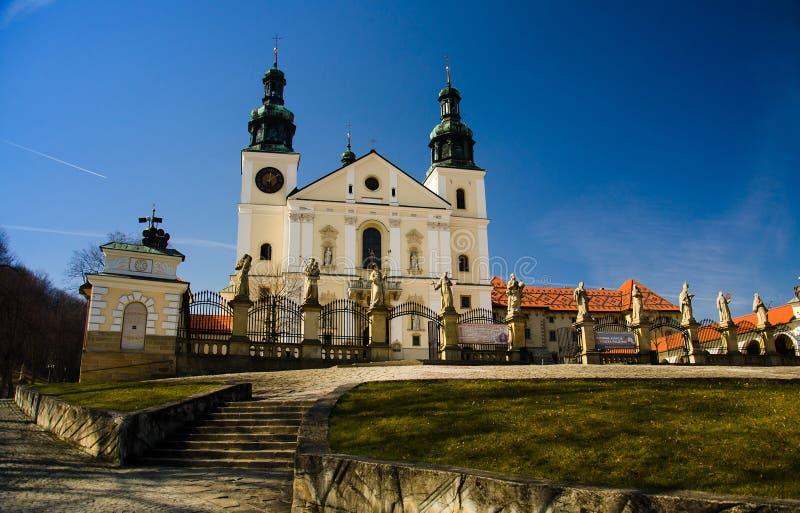Monastério de Kalwaria Zebrzydowska perto de Krakow, Polônia foto de stock