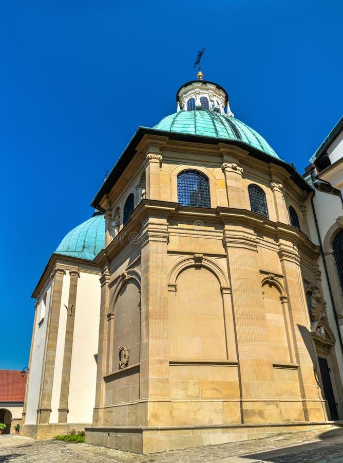 Monastério de Kalwaria Zebrzydowska, um local do patrimônio mundial do UNESCO no Polônia fotos de stock