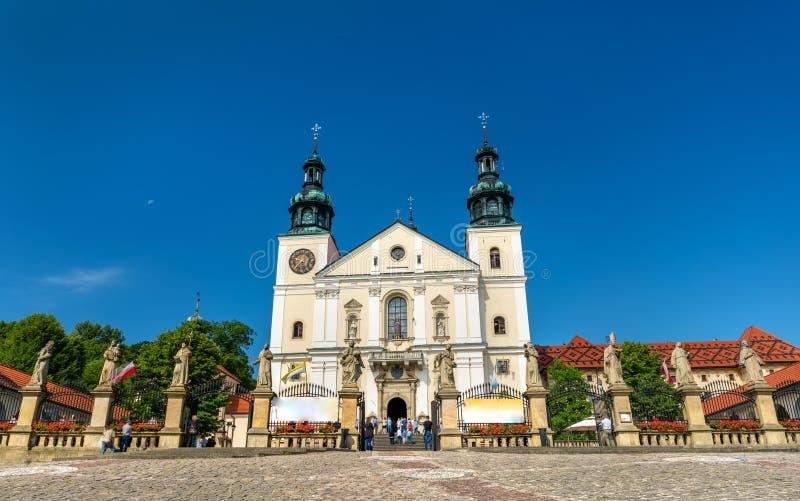 Monastério de Kalwaria Zebrzydowska, um local do patrimônio mundial do UNESCO no Polônia fotografia de stock royalty free
