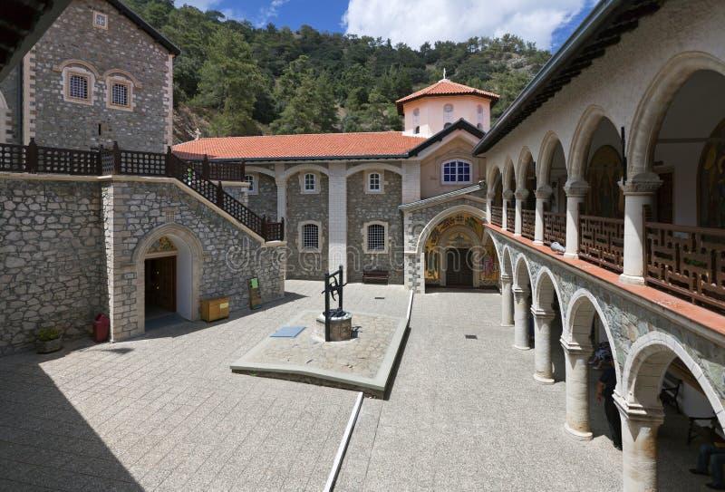 Monastério de Kykkos, Chipre foto de stock