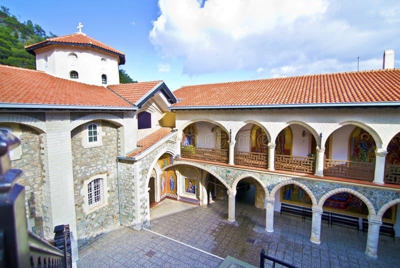 Monastério de Kykkos em Chipre imagens de stock