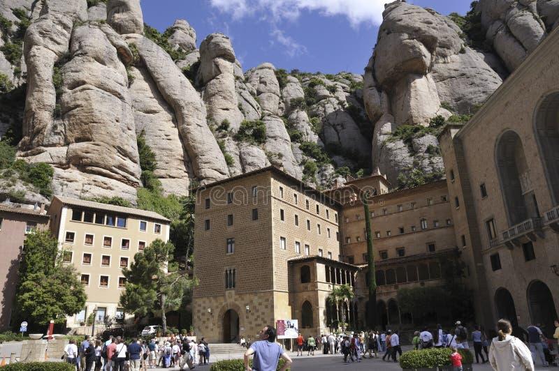 Monastério de Montserrat imagem de stock royalty free