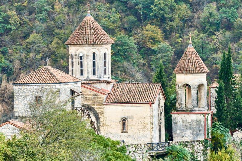 Monastério de Motsameta em Geórgia fotos de stock royalty free