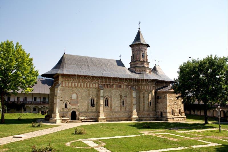 Monastério de Neamt fotografia de stock