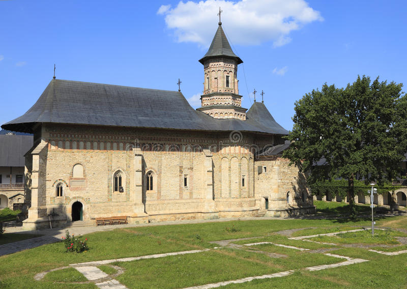 Monastério de Neamt, Moldávia, Romania fotografia de stock