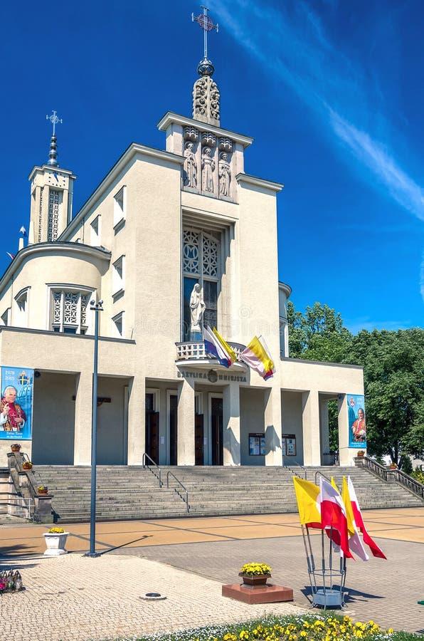 Monastério de Niepokalanow fotos de stock royalty free