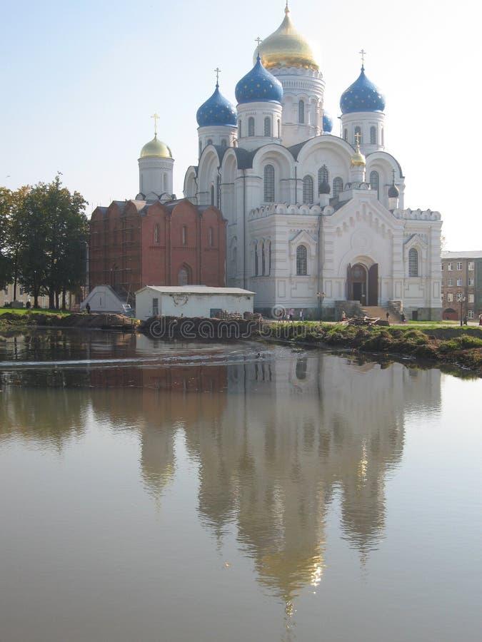 Monastério de Nikolas-Ugreshskiy fotografia de stock