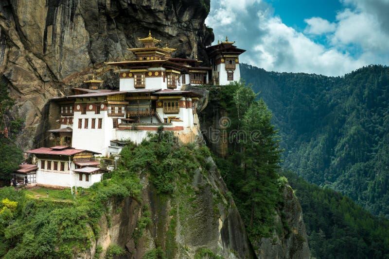 Monastério de Paro Taktsang fotografia de stock royalty free