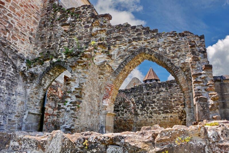 Monastério de pedra velho imagem de stock