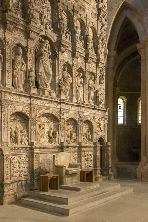 Monastério de Poblet - Catalonia - Spain foto de stock royalty free