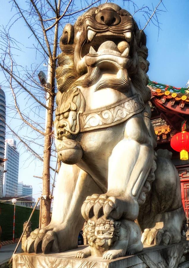 Monastério de Qingyang, Chengdu, China imagem de stock royalty free