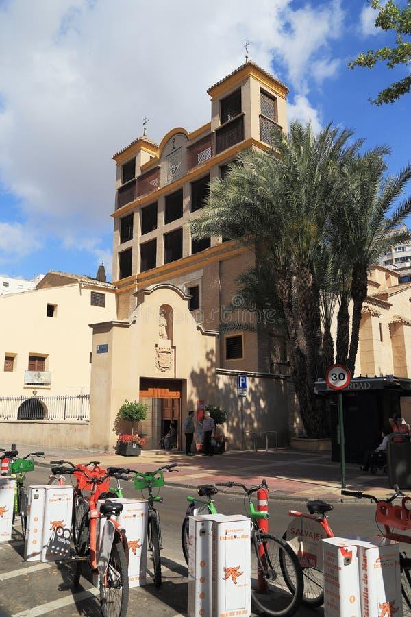 Monastério de Santa Clara, Múrcia, Espanha imagens de stock