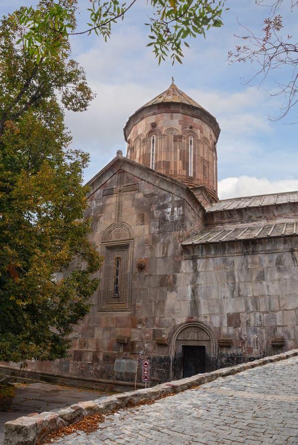 Monastério de Sapara, igreja do St Saba fotografia de stock royalty free