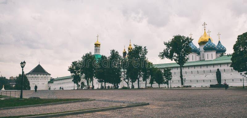 Monastério de Sergiev Posad fotografia de stock