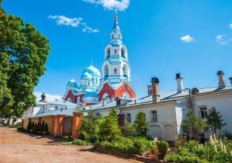 Monastério de Spaso-Preobrazhenskiy imagem de stock