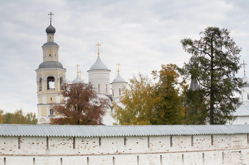 Monastério de Spaso-Prilutskiy Dimitriev imagens de stock royalty free