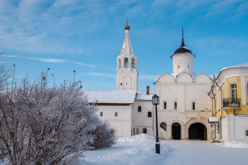Monastério de Spaso Prilutskiy em Vologda imagem de stock