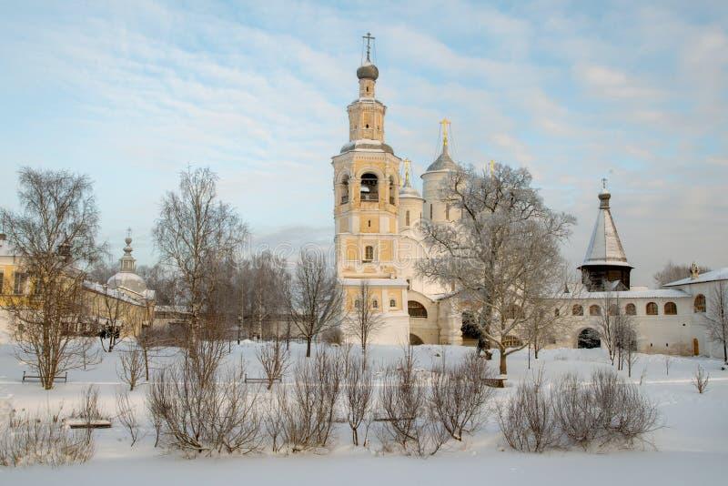 Monastério de Spaso Prilutskiy em Vologda fotos de stock